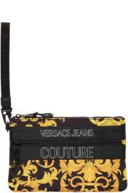 versace-jeans-couture - Black Outline Logo Barocco