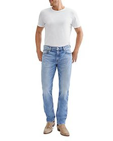 7 For All Mankind - Slimmy Slim Fit Jeans in Camel