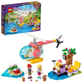 LEGO Friends Vet Clinic Rescue Helicopter 41692; V