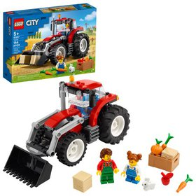 LEGO City Tractor 60287 Cool Building Toy for Kids