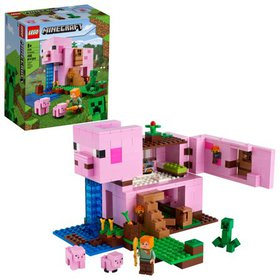 LEGO Minecraft The Pig House 21170 Featuring Alex,