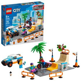 LEGO City Skate Park 60290; Cool Building Toy for