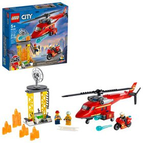 LEGO City Fire Rescue Helicopter 60281 Firefighter