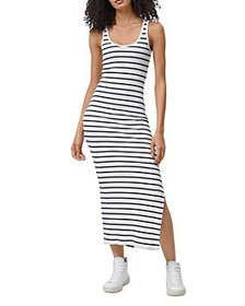 FRENCH CONNECTION - Tommy Striped Tank Dress