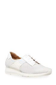 Sesto Meucci Corie Mixed Leather Comfort Sneakers