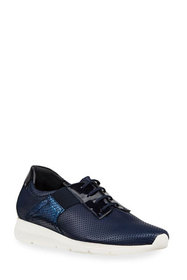 Sesto Meucci Corie Mixed Leather Comfort Sneakers,