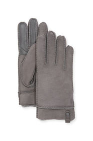 UGG Tenney Suede & Leather Gloves w/ Shearling Lin