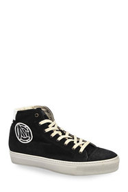 Costume National Men's High-Top Suede Sneakers w/