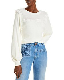 See by Chloé - Lace Trimmed Sweater