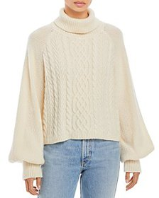 Adam Lippes - Cable Knit Turtleneck Sweater