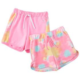 Girls 7-16 Layer 8 2-pack French Terry Shorts