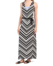 Archistripe Maxi Cover-up Dress