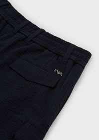 Armani Striped trousers with side pockets