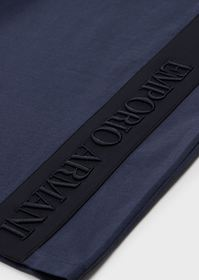 Armani T-shirt with embroidered logo and Bermuda s