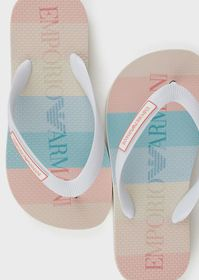 Armani Rubber flip-flops with logo