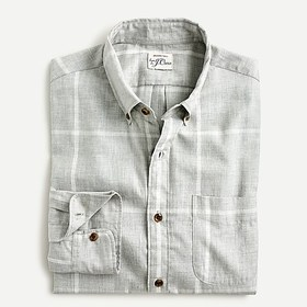 J. Crew Slim Untucked brushed twill shirt in large