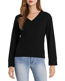 VINCE CAMUTO - Ribbed Top