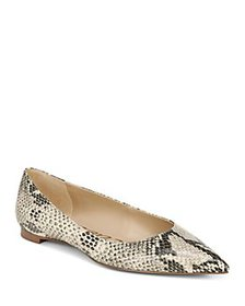 Sam Edelman - Women's Stacey Pointed Toe Embossed