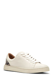 Frye Ivy Mixed Leather Court Sneakers