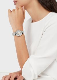 Armani Two-Hand Stainless Steel Watch