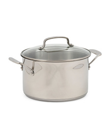 5qt Stainless Steel Tri-ply Dutch Oven With Cover