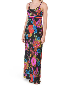 Electric Reef Maxi Dress Cover-up