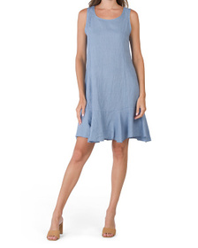 Made In Italy Linen Dress