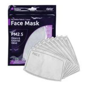 Darter PM2.5 Face Mask Filters for Adults, Blue, 1