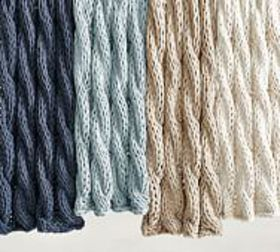 Pottery Barn Colossal Handknit Throws