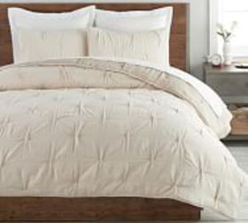Pottery Barn Soft Cotton Handcrafted Quilt & Shams