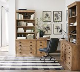 Pottery Barn Build Your Own - Lucca Modular Office