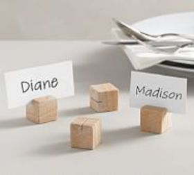Pottery Barn Mesa Handcrafted Sandstone Place Card