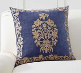 Pottery Barn Colette Embroidered Pillow Cover