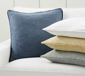 Pottery Barn Willa Textured Fringe Pillow Covers