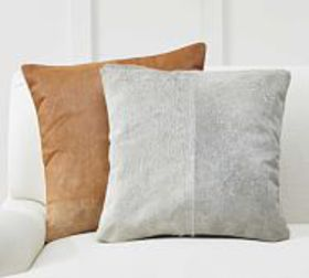 Pottery Barn Hair on Hide Pillow Cover