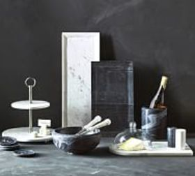 Pottery Barn Marble Serveware Collection