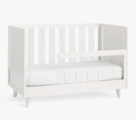 Pottery Barn Sloan Acrylic Toddler Bed Conversion