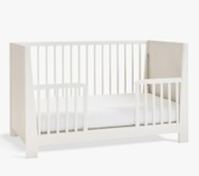 Pottery Barn Milo Two Tone Toddler Bed Conversion