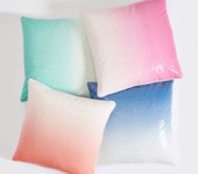 Pottery Barn Ombre Sequin Pillow Cover