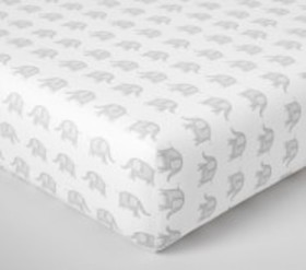 Pottery Barn Taylor Organic Crib Fitted Sheet