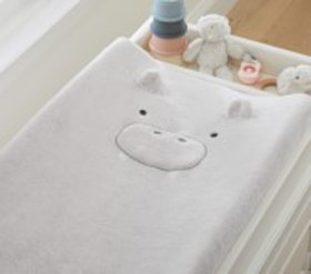 Pottery Barn Super Soft Hippo Changing Pad