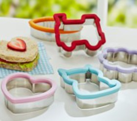 Pottery Barn Stainless Sandwich Cutters