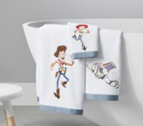 Pottery Barn Disney and Pixar Toy Story Towel Coll