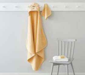 Pottery Barn Super Soft Tiger Baby Hooded Towel An