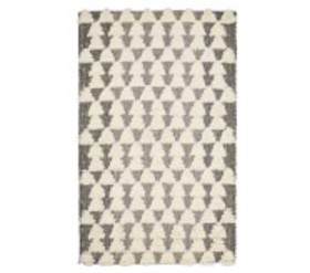 Pottery Barn Textured Triangles Rug