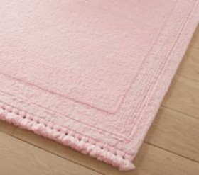 Pottery Barn Stain Resistant Braided Border Rug