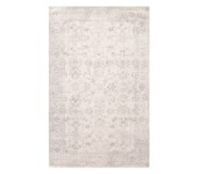 Pottery Barn Lila Floral Antique Rug