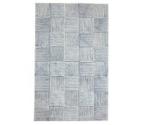 Pottery Barn Concentric Square Tile Rug