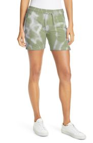 NICOLE MILLER Tie-Dye Pull-On Terry Shorts