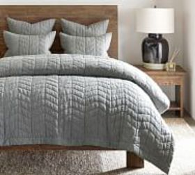 Pottery Barn Willow Handcrafted Linen/Cotton Twill